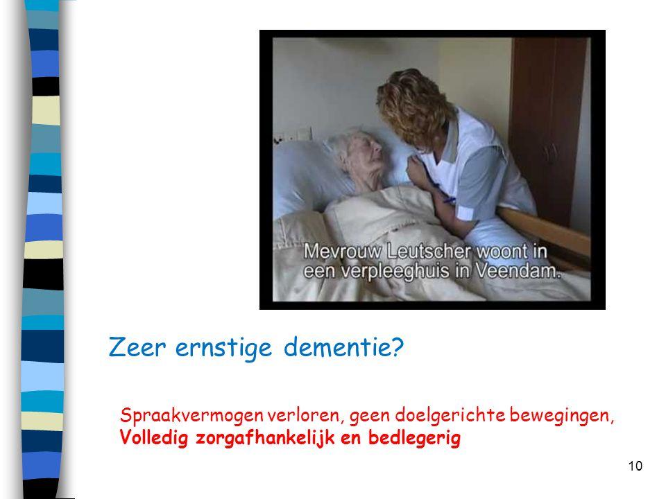 Zeer ernstige dementie