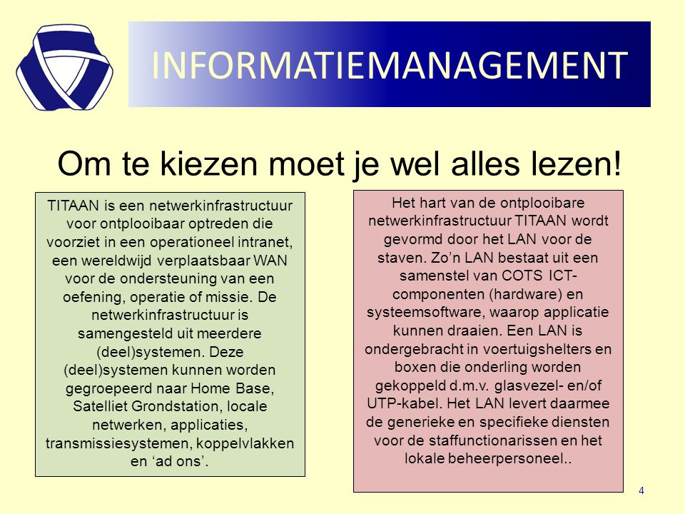 INFORMATIEMANAGEMENT