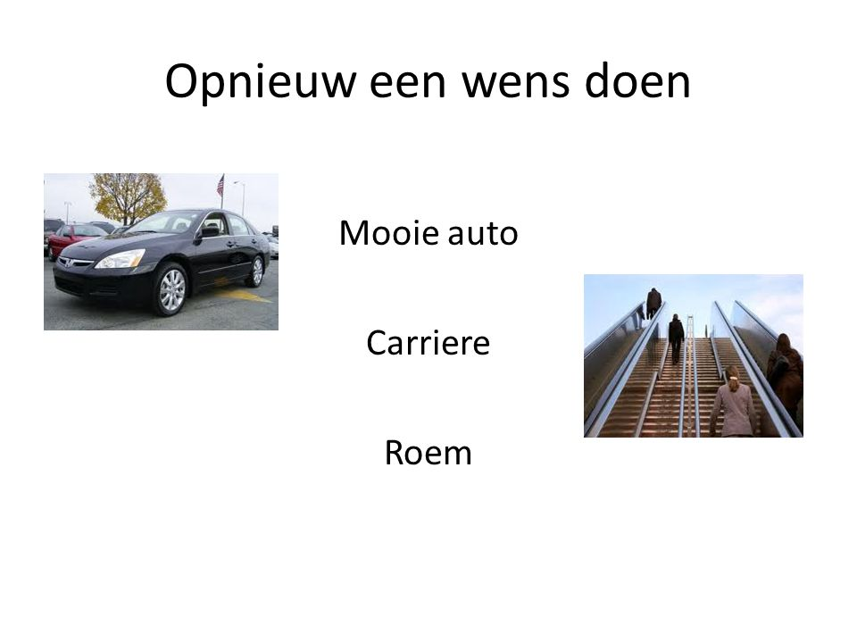 Mooie auto Carriere Roem