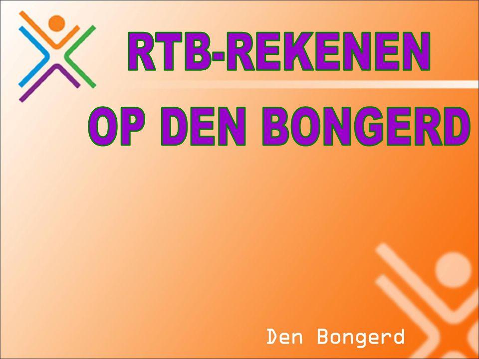 RTB-REKENEN OP DEN BONGERD