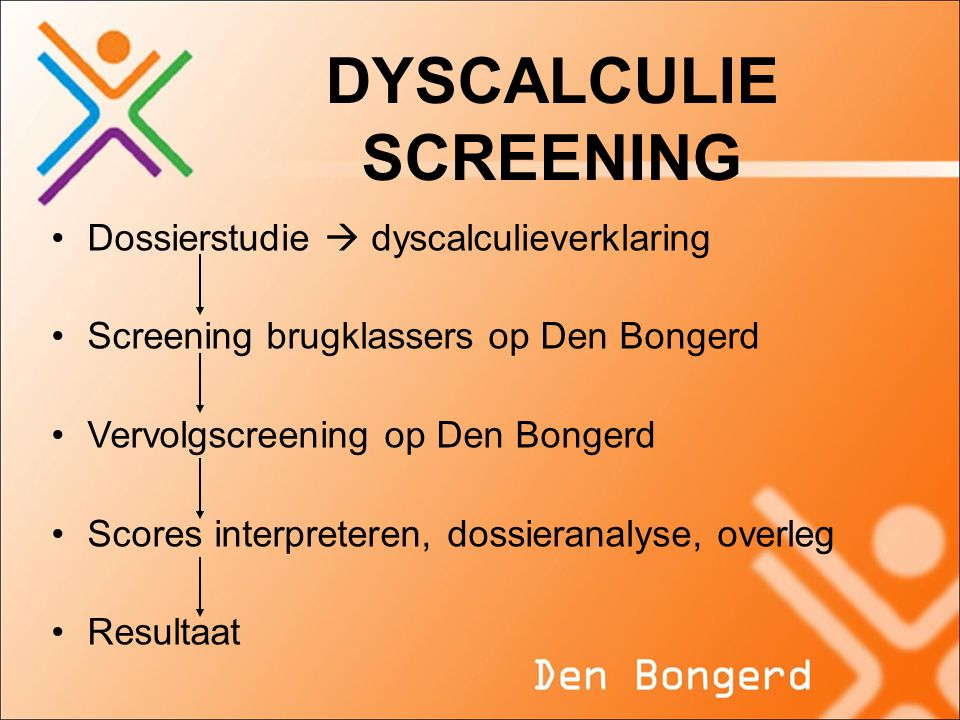 DYSCALCULIE SCREENING