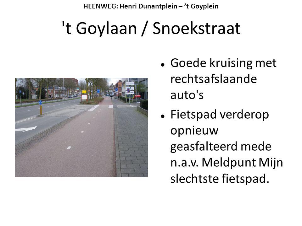t Goylaan / Snoekstraat