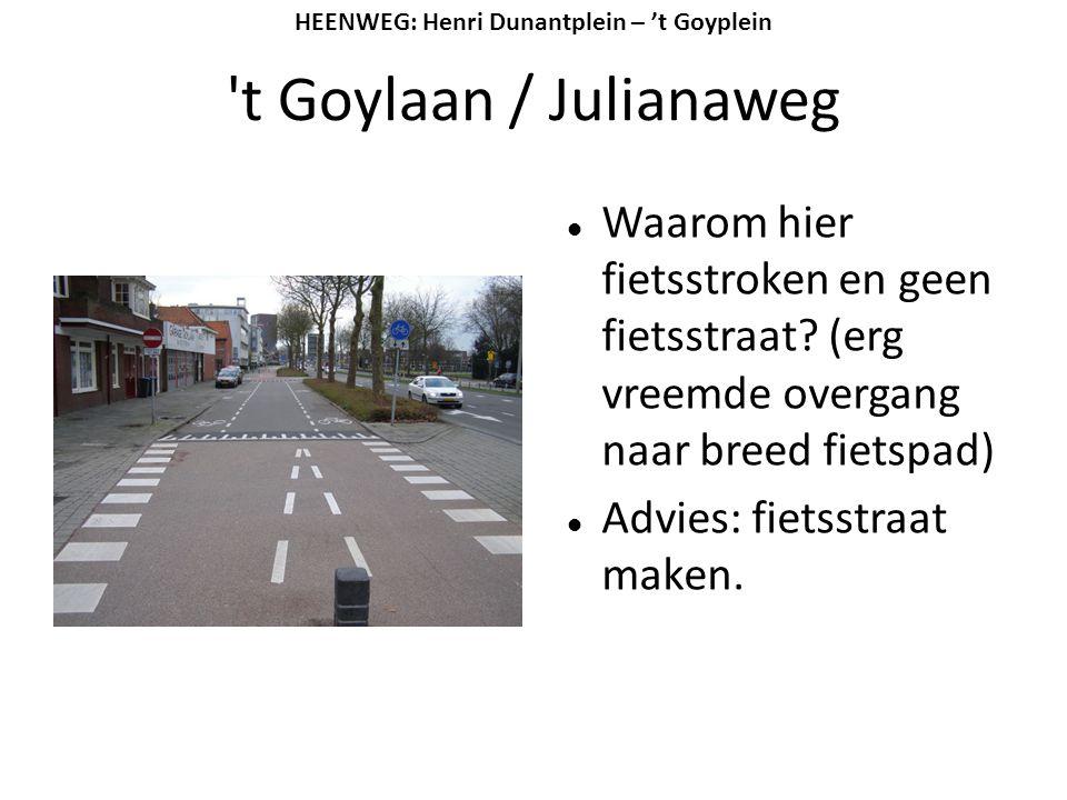 HEENWEG: Henri Dunantplein – 't Goyplein