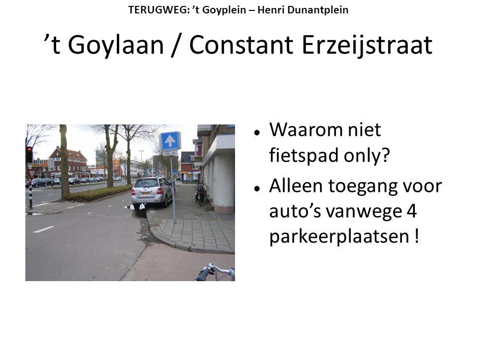 't Goylaan / Constant Erzeijstraat
