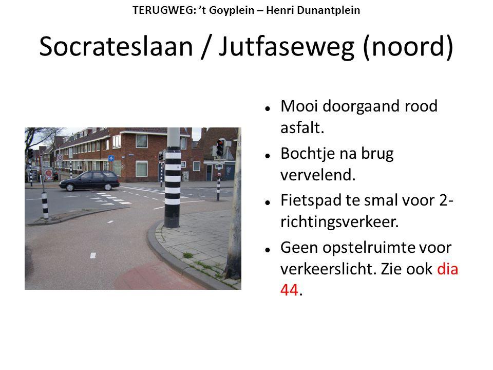 Socrateslaan / Jutfaseweg (noord)