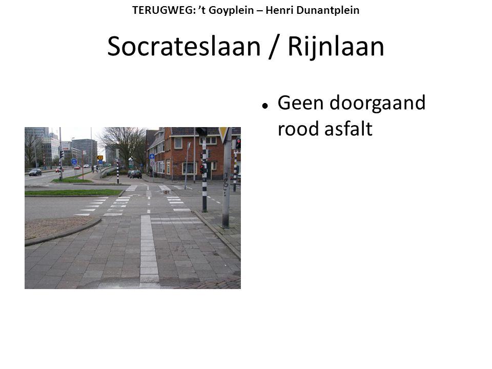 Socrateslaan / Rijnlaan