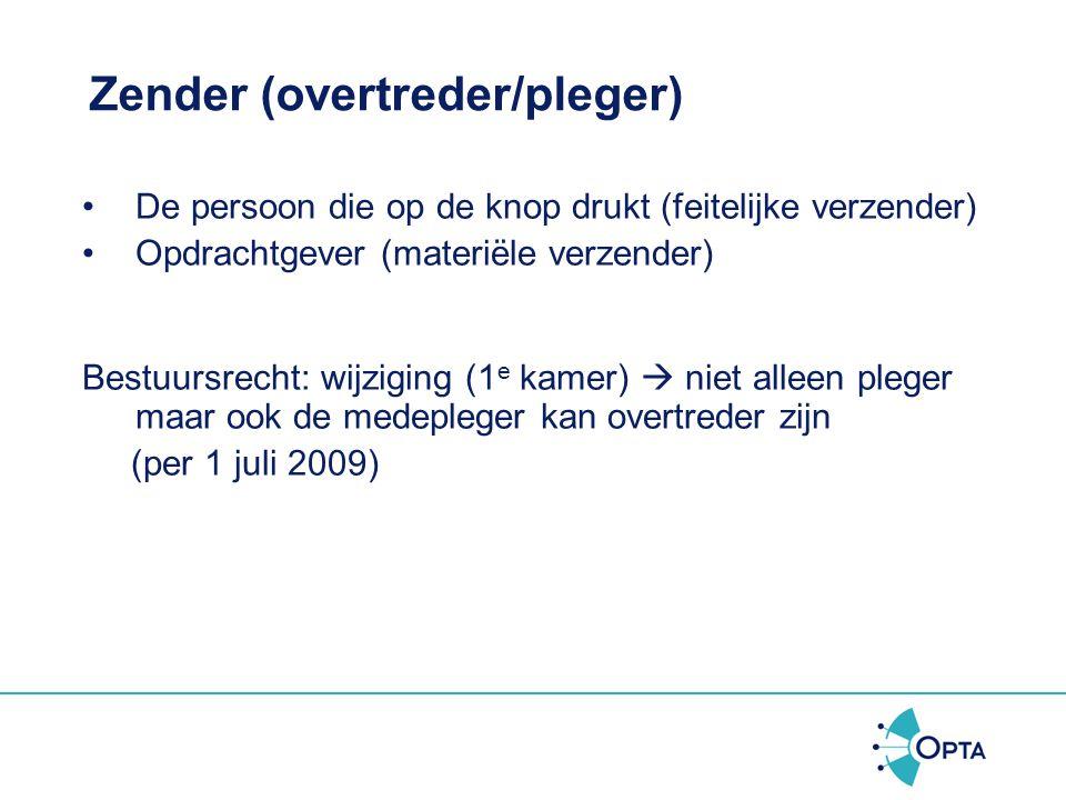 Zender (overtreder/pleger)
