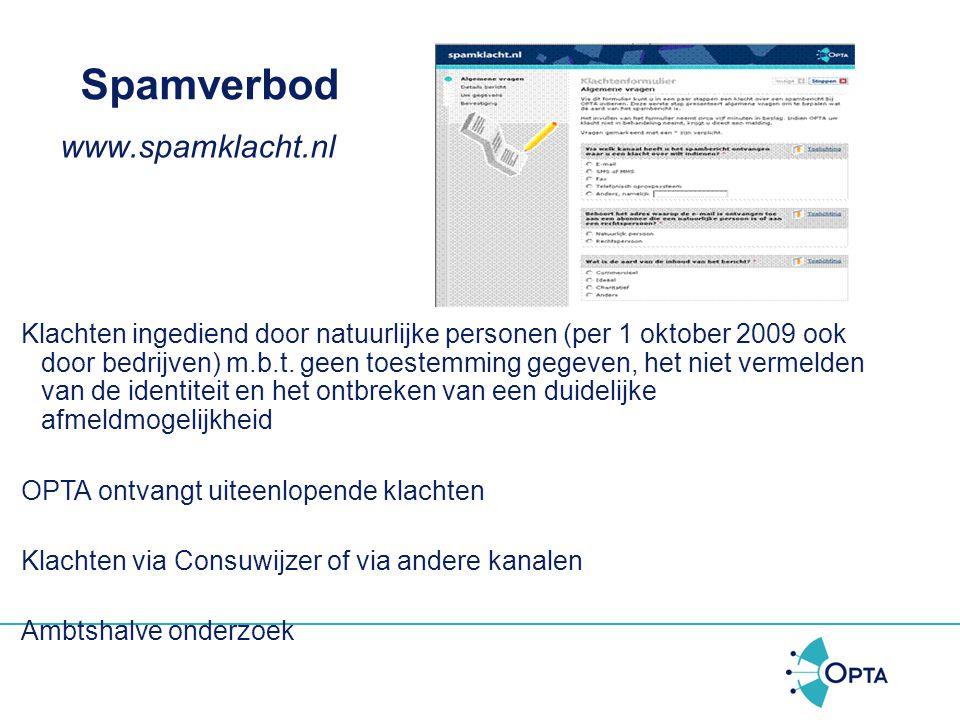 Spamverbod www.spamklacht.nl