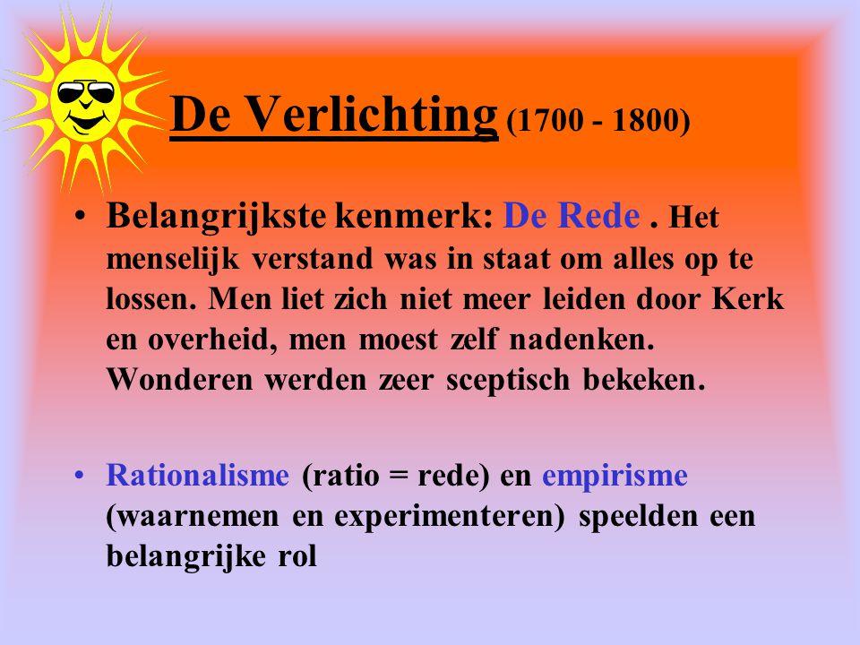 De Verlichting (1700 - 1800)