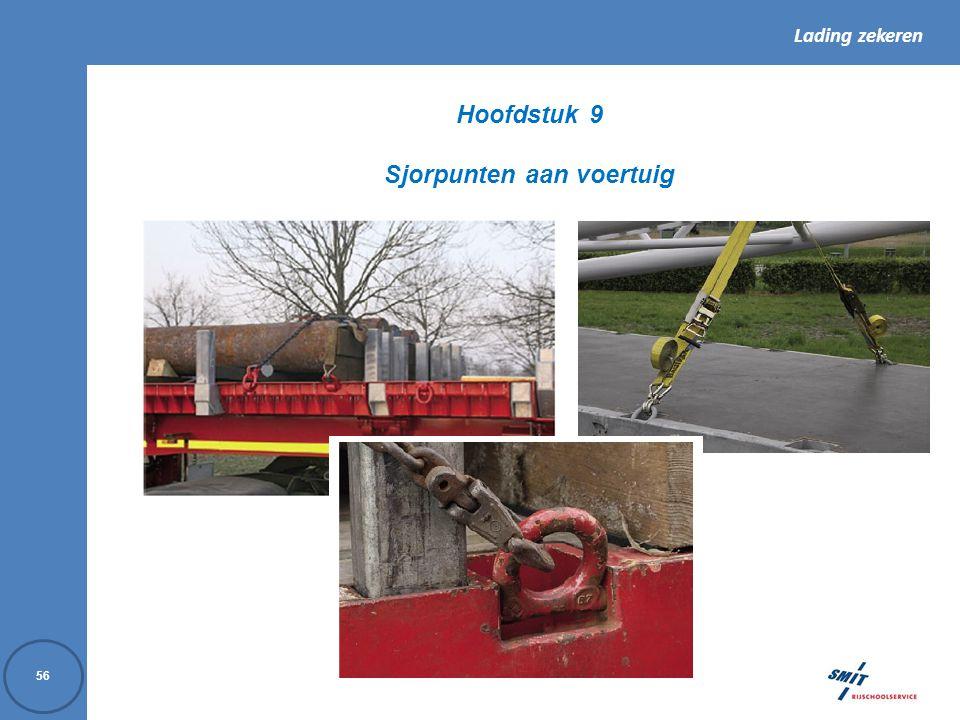 Hoofdstuk 9 Sjorpunten aan voertuig