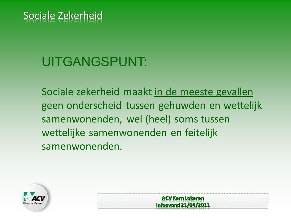 UITGANGSPUNT: Sociale Zekerheid