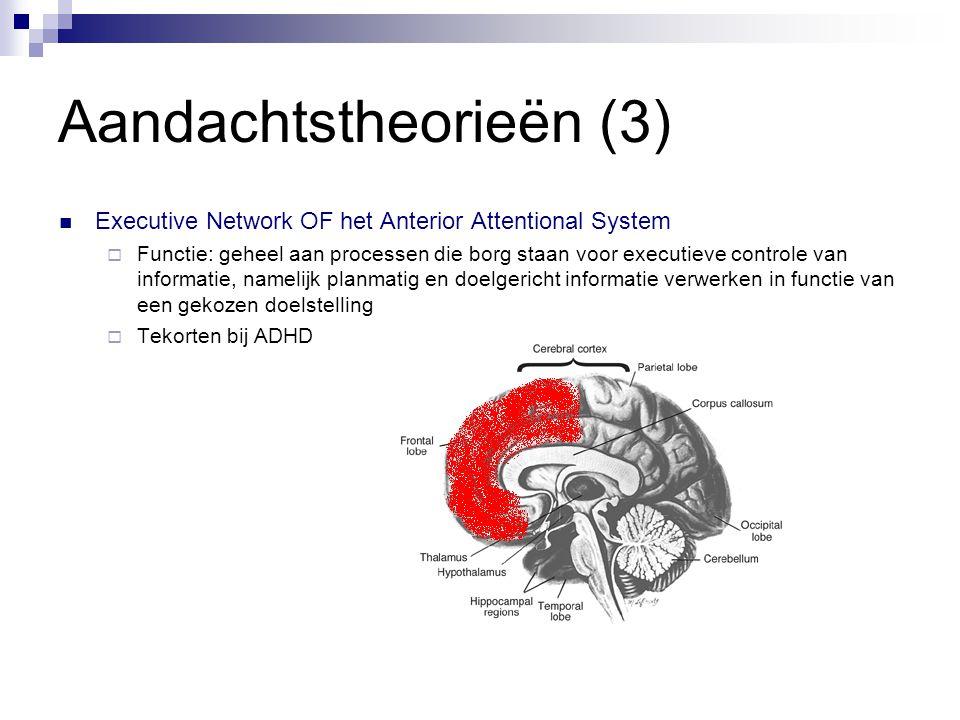 Aandachtstheorieën (3)