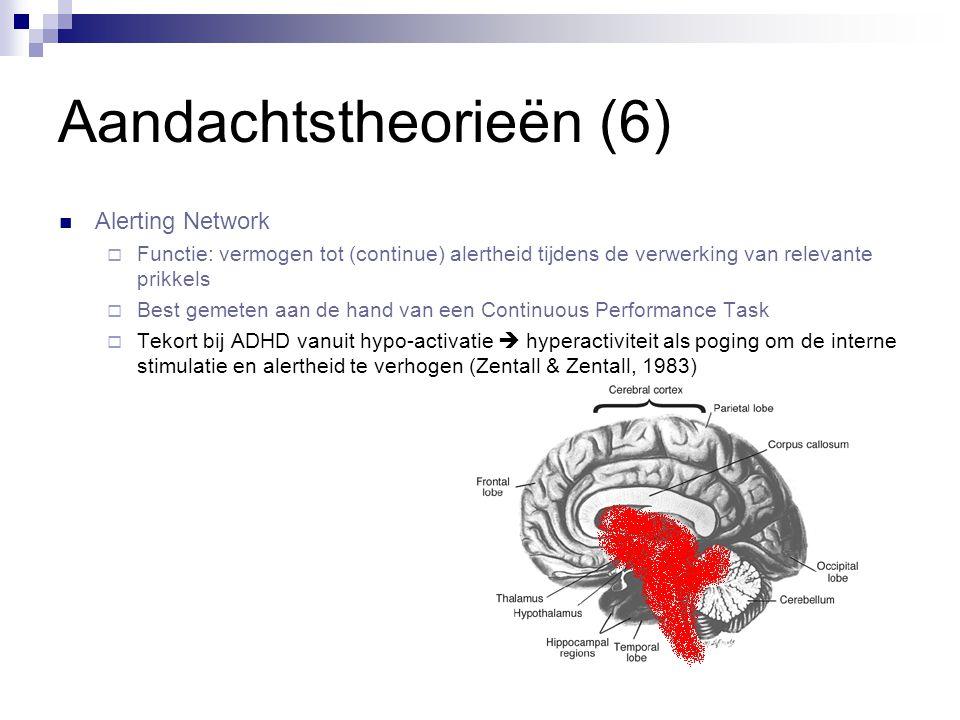 Aandachtstheorieën (6)