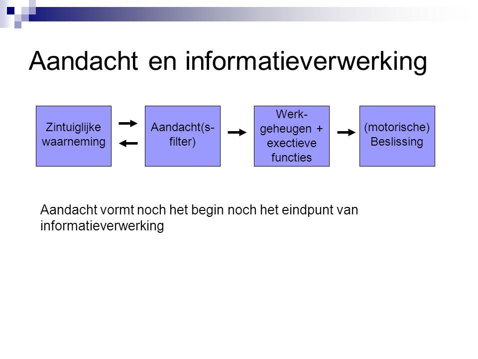 Aandacht en informatieverwerking