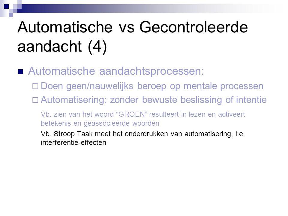 Automatische vs Gecontroleerde aandacht (4)