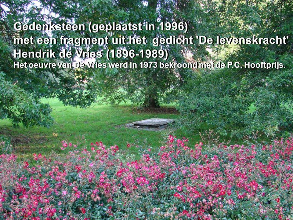 Gedenksteen (geplaatst in 1996)