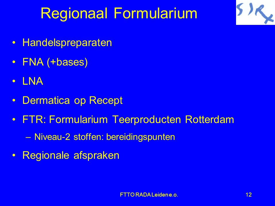 Regionaal Formularium