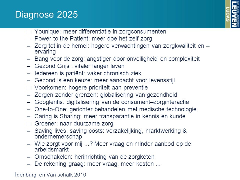 Diagnose 2025 Younique: meer differentiatie in zorgconsumenten