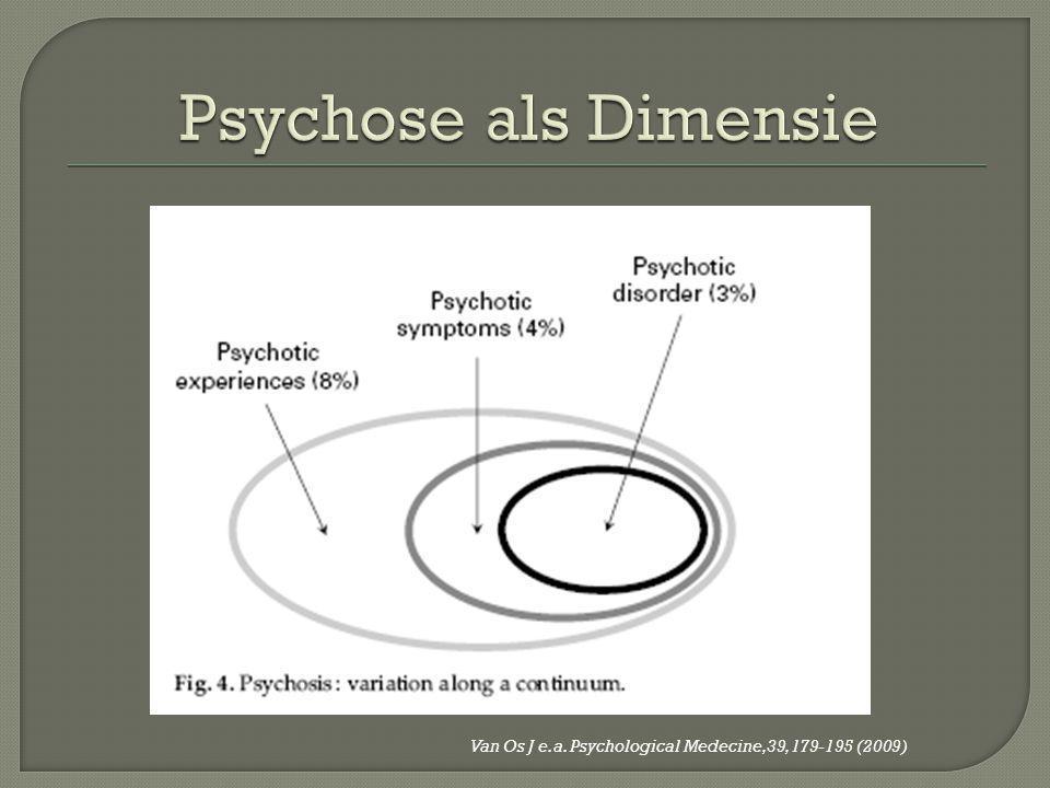 Psychose als Dimensie