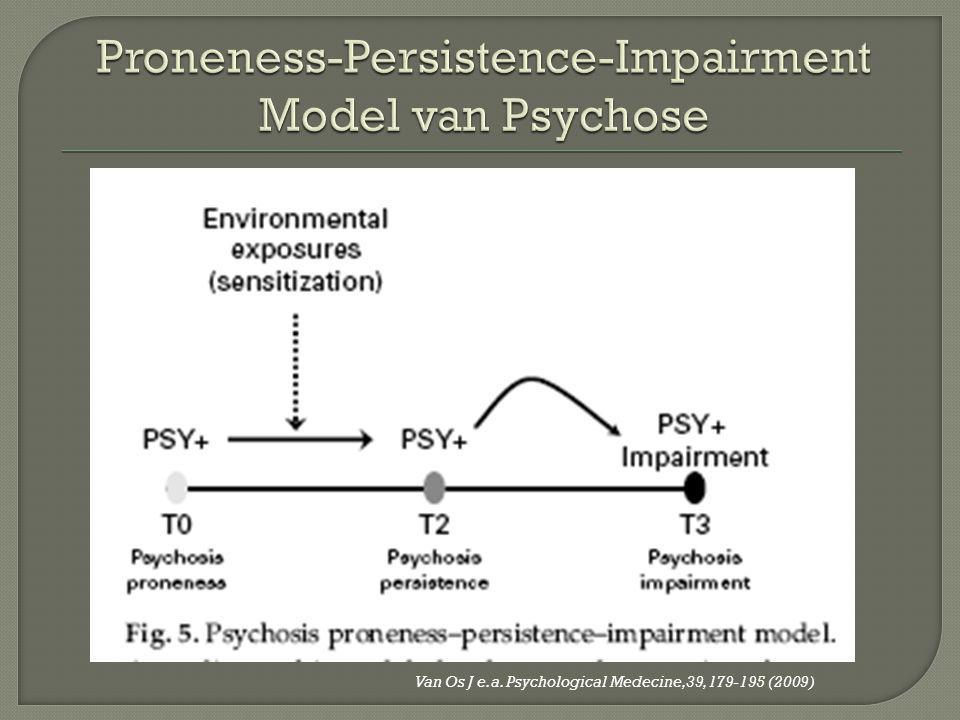 Proneness-Persistence-Impairment Model van Psychose