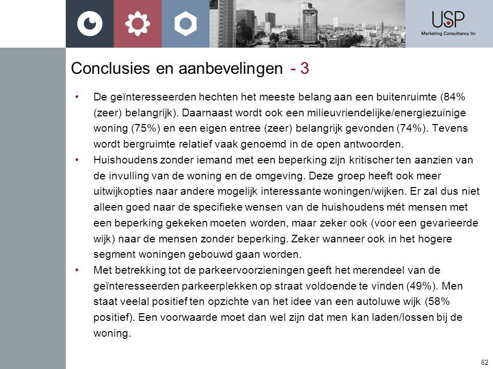 Conclusies en aanbevelingen - 3