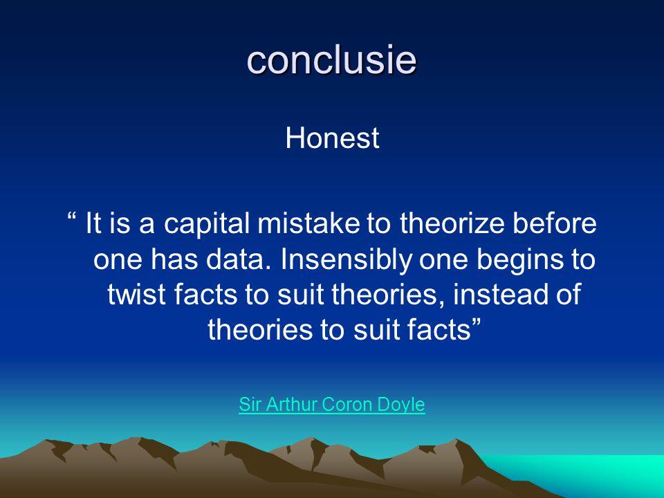 conclusie Honest.
