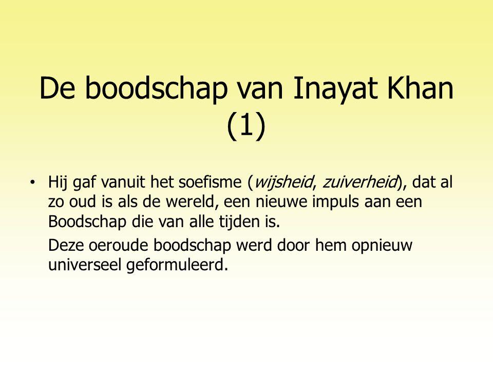De boodschap van Inayat Khan (1)