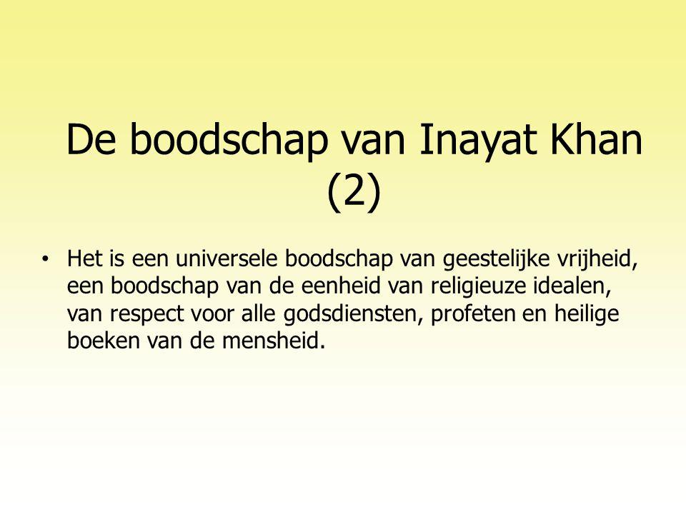 De boodschap van Inayat Khan (2)