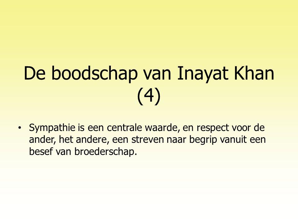 De boodschap van Inayat Khan (4)