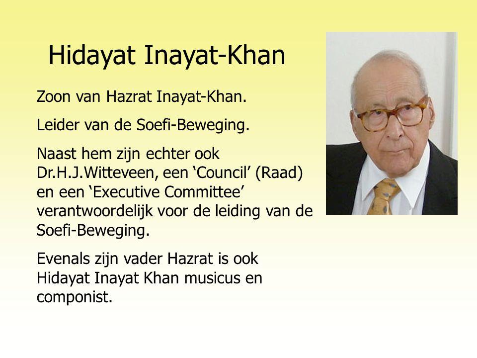 Hidayat Inayat-Khan Zoon van Hazrat Inayat-Khan.