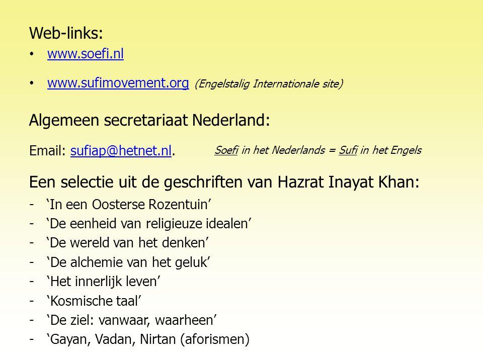 Algemeen secretariaat Nederland: