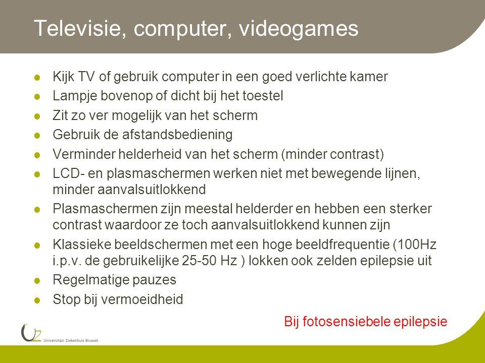Televisie, computer, videogames