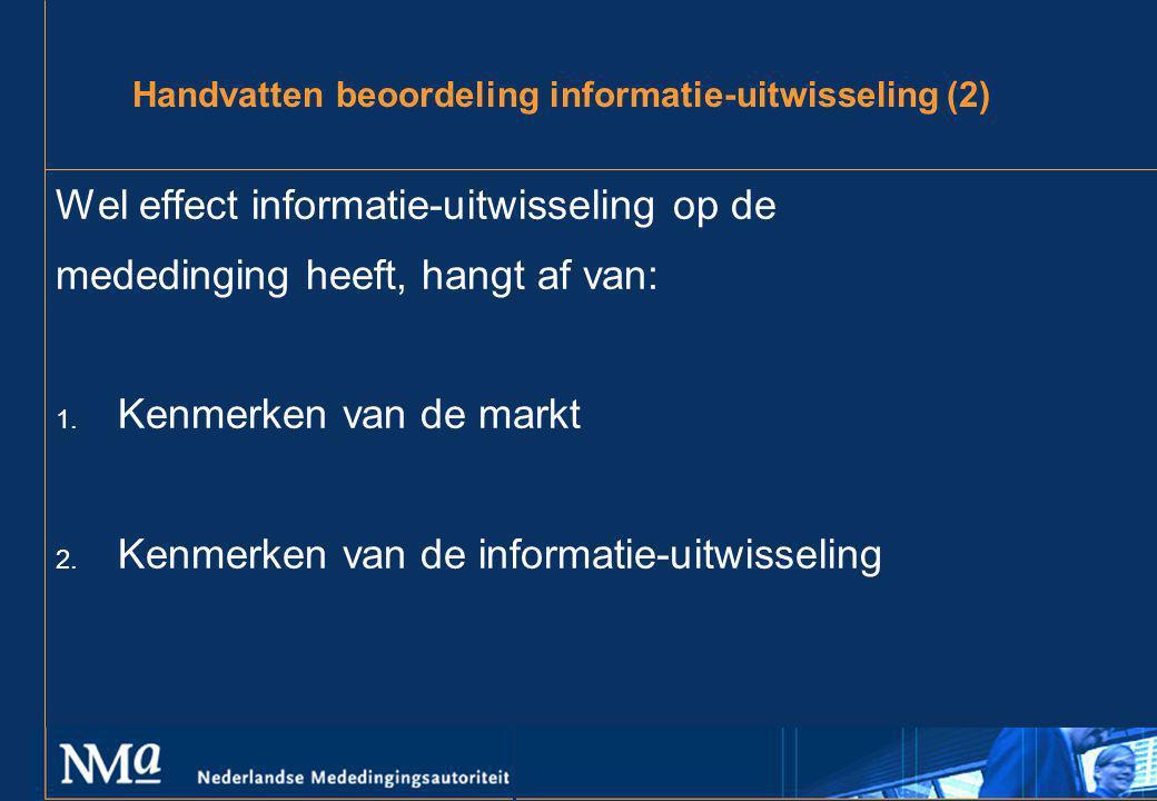 Handvatten beoordeling informatie-uitwisseling (2)