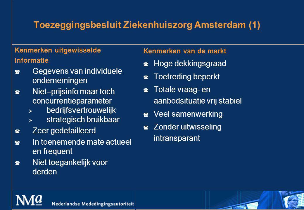 Toezeggingsbesluit Ziekenhuiszorg Amsterdam (1)
