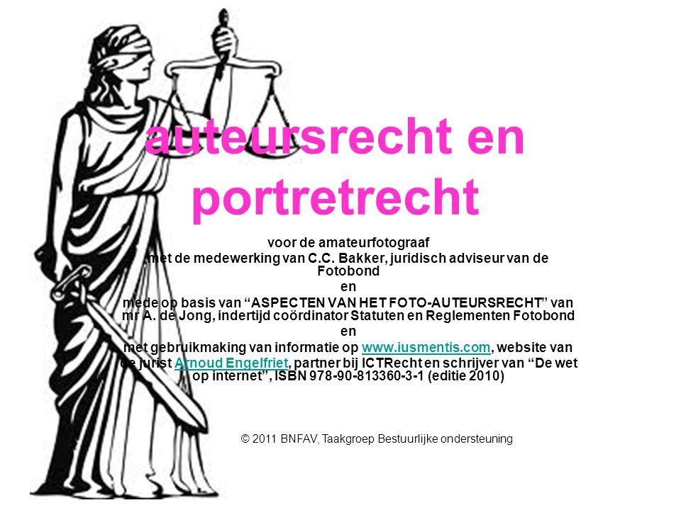 auteursrecht en portretrecht