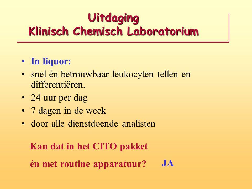 Uitdaging Klinisch Chemisch Laboratorium