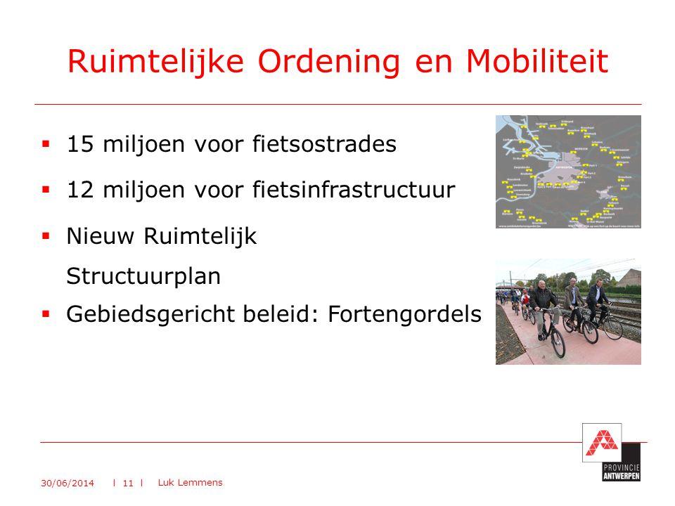 Ruimtelijke Ordening en Mobiliteit