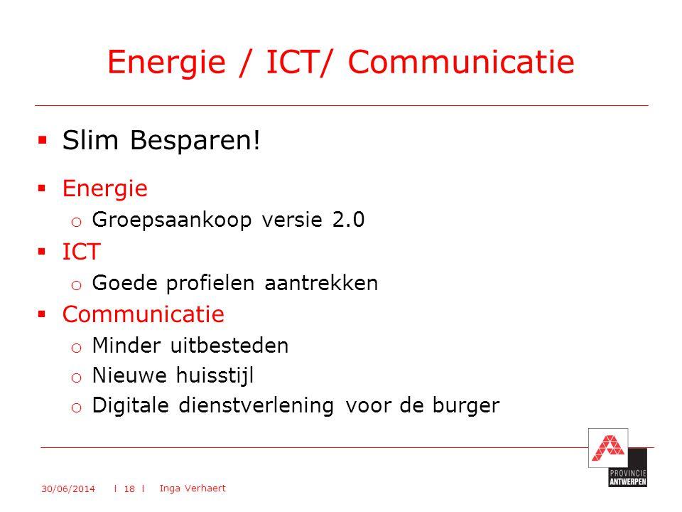Energie / ICT/ Communicatie