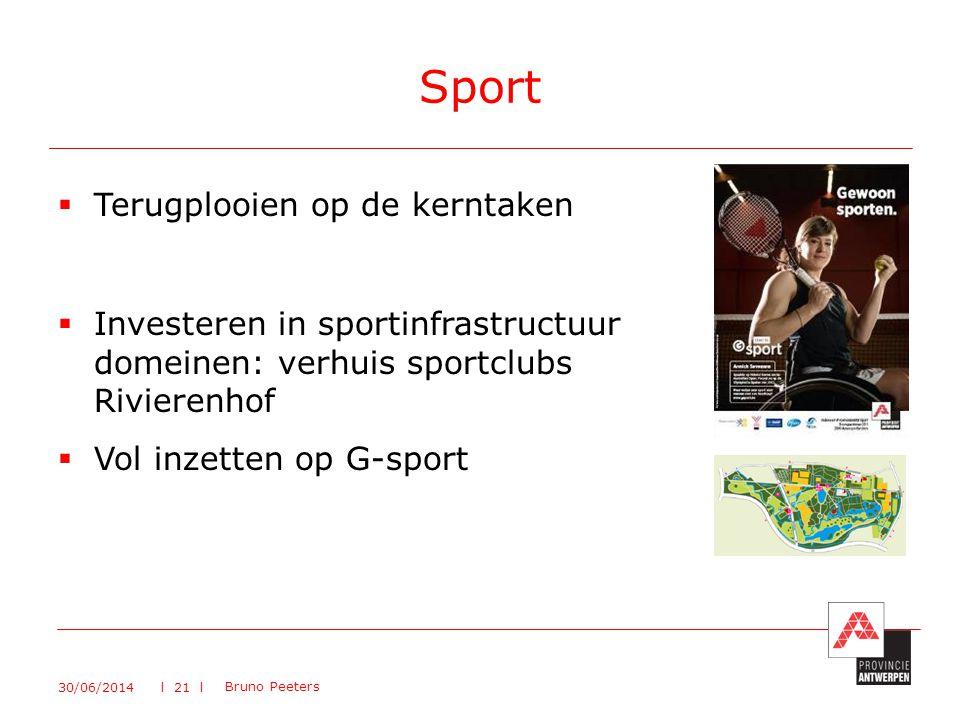 Sport Terugplooien op de kerntaken