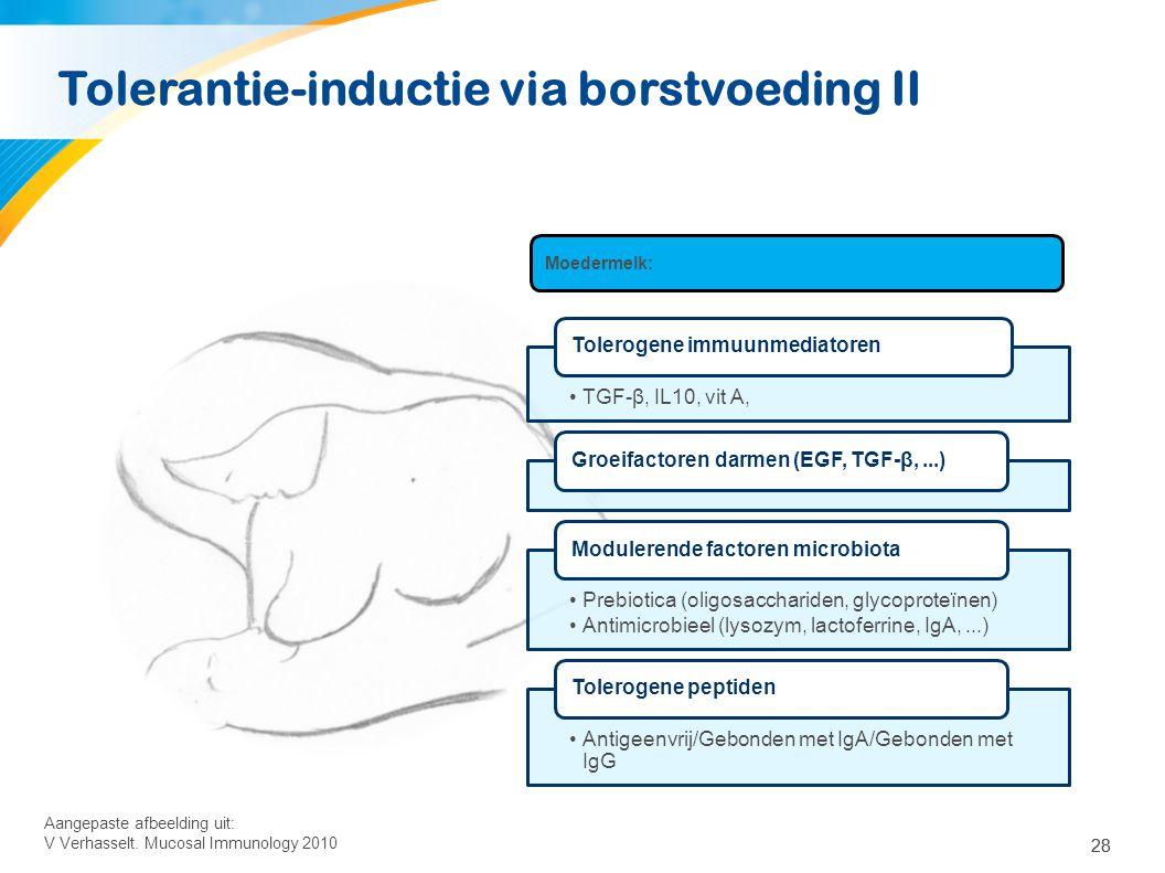 Nieuwe (=huidige) richtlijn voor introductie van bijvoeding
