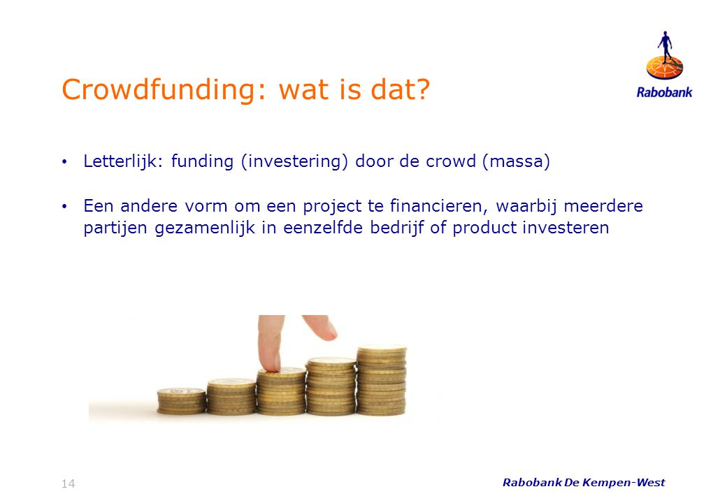 Crowdfunding: wat is dat