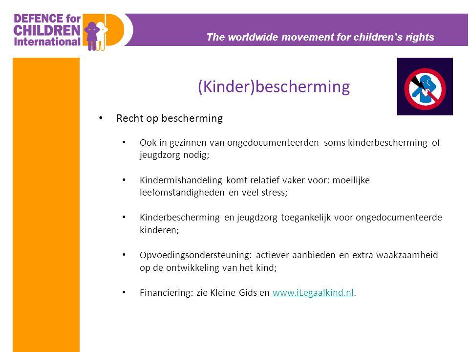 (Kinder)bescherming Recht op bescherming