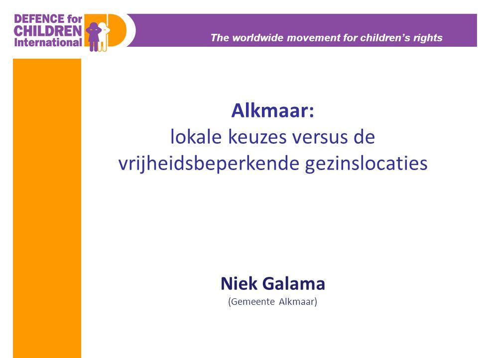 Alkmaar: lokale keuzes versus de vrijheidsbeperkende gezinslocaties