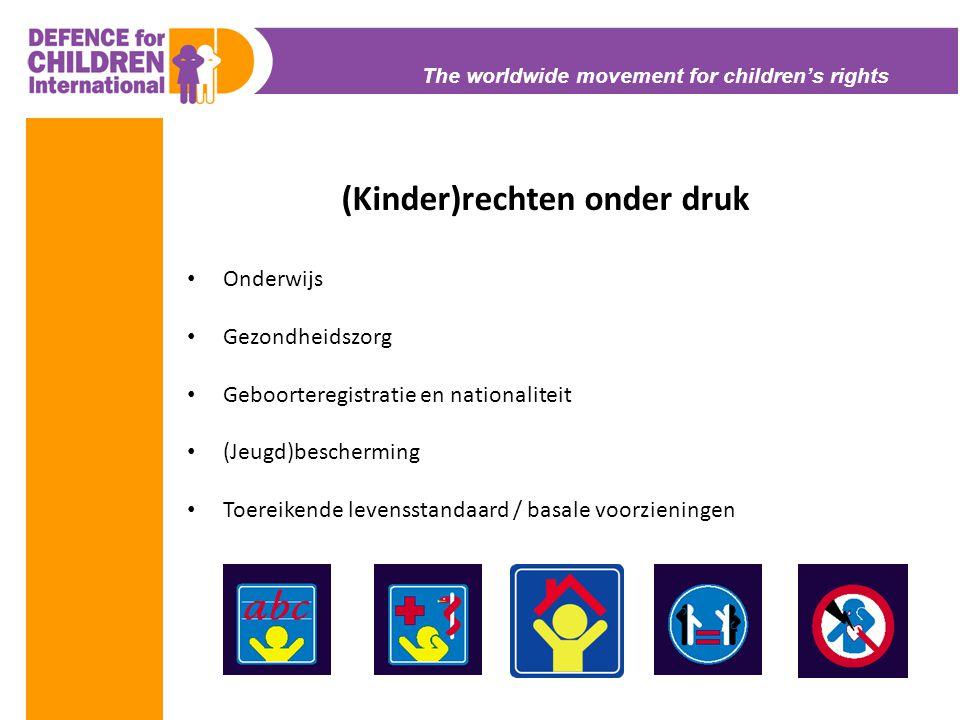(Kinder)rechten onder druk