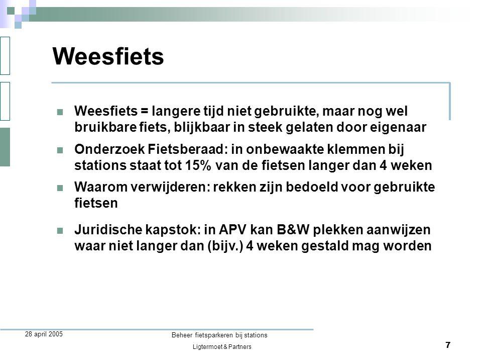 Beheer fietsparkeren bij stations