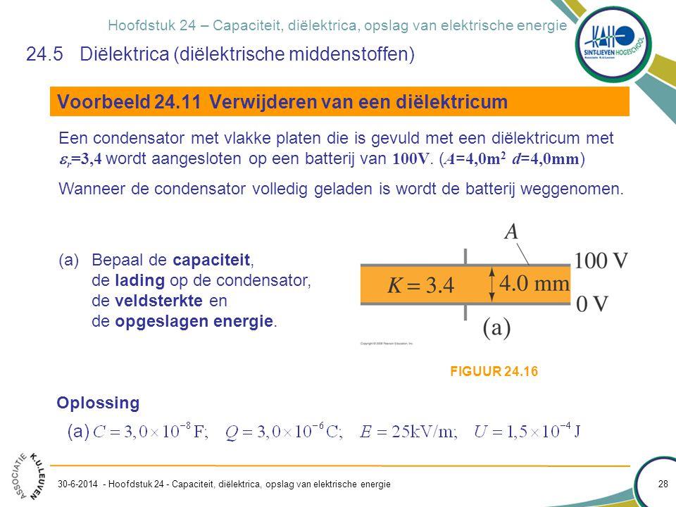 24.5 Diëlektrica (diëlektrische middenstoffen)