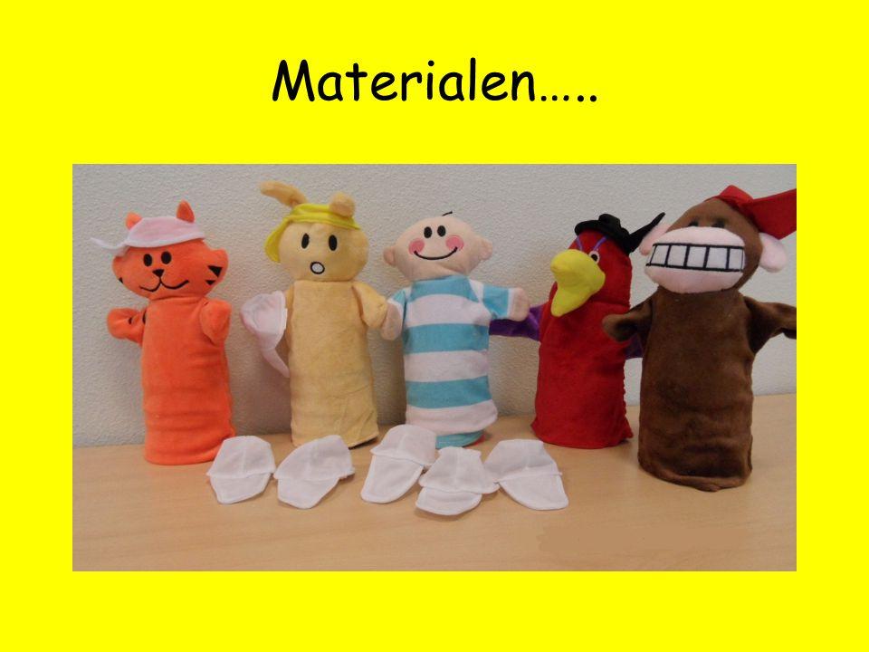 Materialen…..