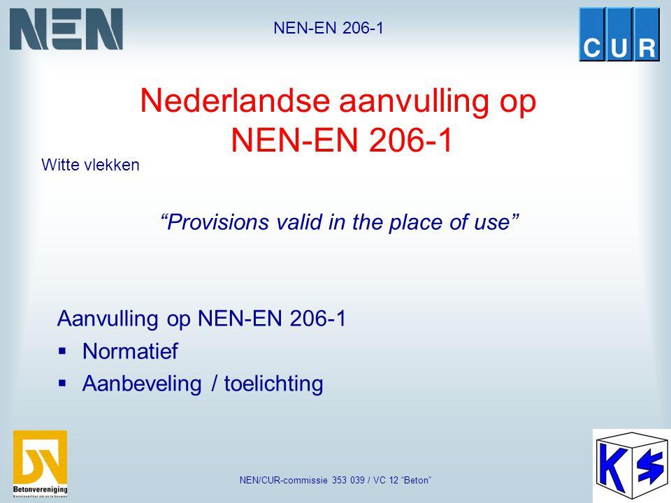 Nederlandse aanvulling op NEN-EN 206-1