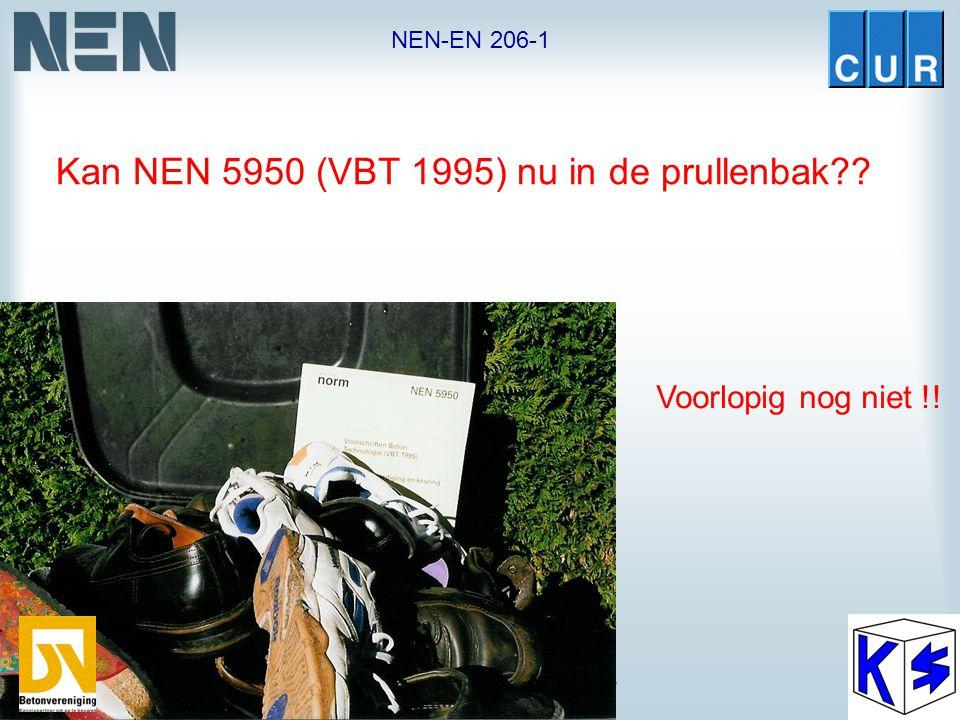 Kan NEN 5950 (VBT 1995) nu in de prullenbak