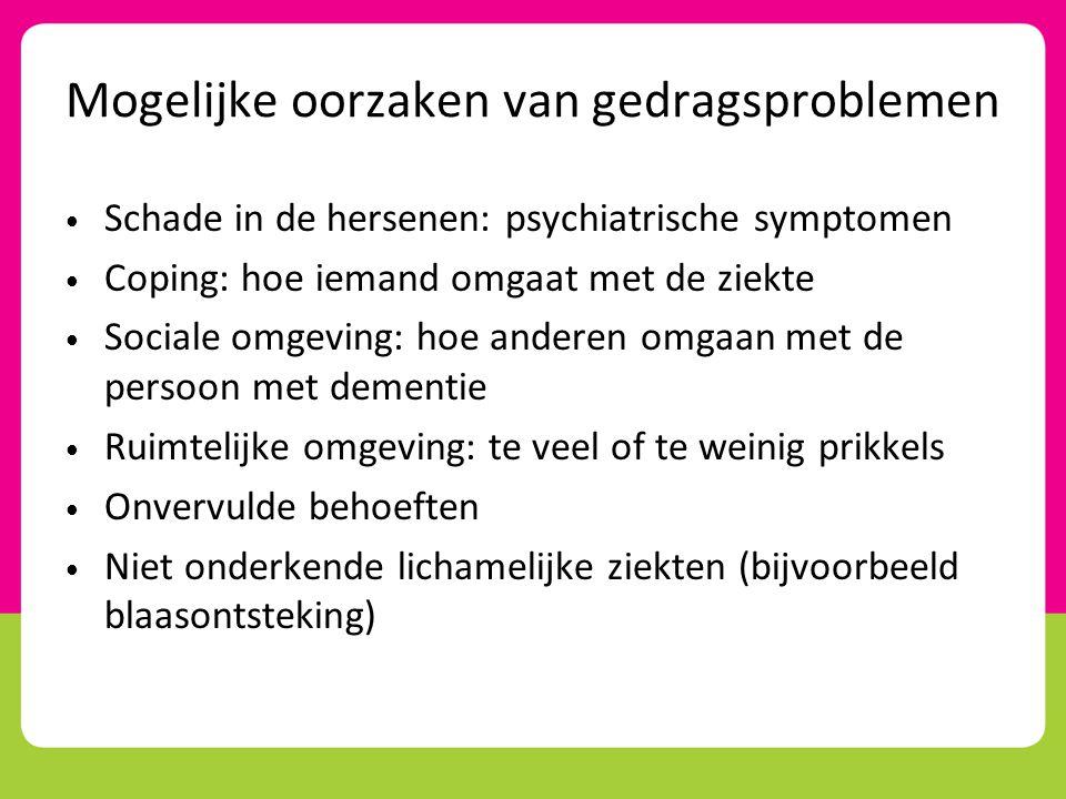 hersenen tijdens dementie